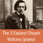 easy chopin waltzes cover