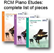 rcm etudes all pieces cover