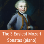 easy mozart sonatas cover