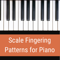 scale fingering for piano