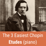 easy chopin etudes cover